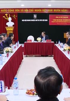 Chủ tịch Ủy ban MTTQ Việt Nam thăm Hiệp hội doanh nghiệp nhỏ và vừa