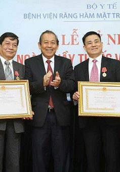 Phó Thủ tướng Trương Hòa Bình chúc mừng Ngày Thầy thuốc Việt Nam