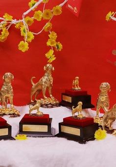 Tiệm vàng đã sẵn sàng cho ngày vía thần tài