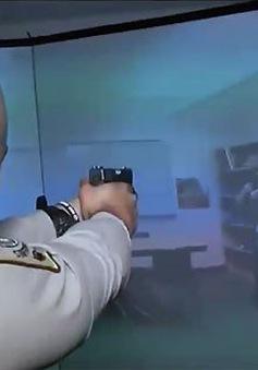 Dùng công nghệ thực tế ảo trong luyện tập ứng phó các vụ tấn công trường học