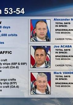 Nhóm phi hành gia của Mỹ và Nga đã trở về an toàn từ trạm ISS