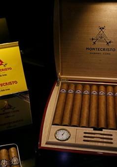 Ngành xì gà Cuba đạt doanh thu 500 triệu USD trong năm 2017
