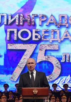 Tổng thống Putin dự lễ kỷ niệm 75 năm trận chiến Stalingrad
