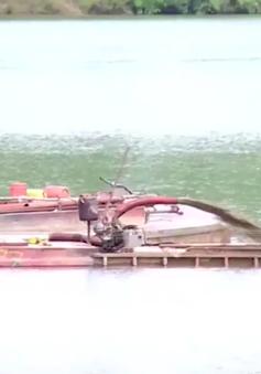 Ngăn chặn tình trạng khai thác cát trên sông Hương, Thừa Thiên Huế