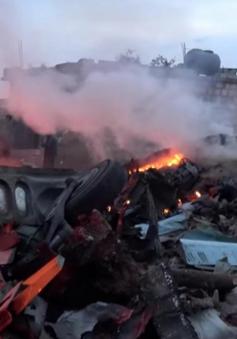 Nga tăng cường không kích tại Syria sau vụ Su-25 bị bắn rơi