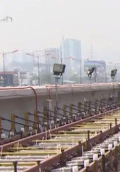 TP.HCM: Hơn 2km đường ray đầu tiên của tuyến Metro số 1 đã hoàn thành