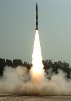 Ấn Độ phóng thử tên lửa đạn đạo có thể mang đầu đạn hạt nhân