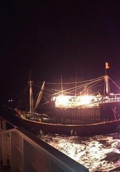 Một ngư dân tỉnh Quảng Ngãi được cơ quan chức năng Trung Quốc cấp cứu