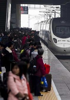Trung Quốc bổ sung gần 1.000 chuyến tàu phục vụ Tết