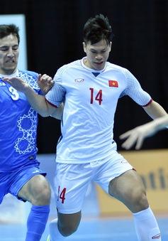 VIDEO Tổng hợp trận đấu: ĐT futsal Uzbekistan 3-1 ĐT futsal Việt Nam