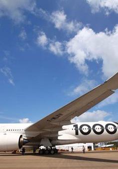 Trên 1.000 công ty tham gia Triển lãm hàng không quốc tế tại Singapore