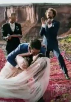 Chiêm ngưỡng những tấm ảnh đám cưới ở độ cao hơn 120m