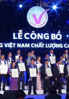 Vinh danh hàng Việt Nam chất lượng cao năm 2018 vì sức khỏe cộng đồng