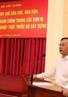 Thủ tướng bổ nhiệm ông Nguyễn Văn Sinh làm Thứ trưởng Bộ Xây dựng