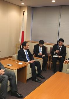 Thứ trưởng Bùi Thanh Sơn gặp và làm việc với Thứ trưởng Nghị viện Ngoại giao Nhật Bản