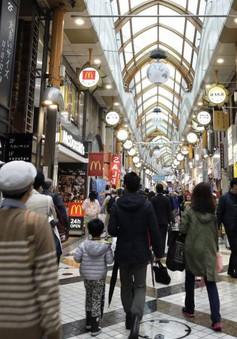 Sức chi tiêu của hộ gia đình Nhật Bản tăng