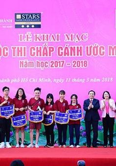 """1.500 học sinh tham dự chung kết cuộc thi """"Chắp cánh ước mơ"""""""