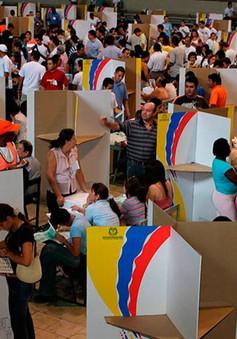 Colombia kết thúc cuộc bầu cử Quốc hội