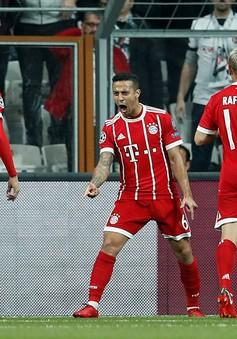 Thắng dễ Besiktas, Bayern Munich tiến vào tứ kết Champions League
