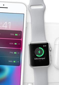 Apple sắp ra mắt bộ sạc không dây đa năng AirPower