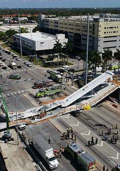 Khó khăn giải cứu nạn nhân trong vụ sập cầu tại Mỹ