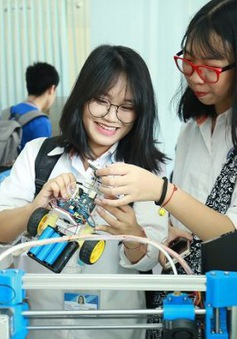Ngày hội STEM tỉnh Bắc Ninh truyền cảm hứng yêu khoa học cho các bạn học sinh
