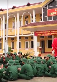 Tân binh thời gian đầu huấn luyện trong quân ngũ