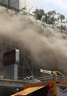 Hỏa hoạn tại khách sạn ở thủ đô Manila, Philippines