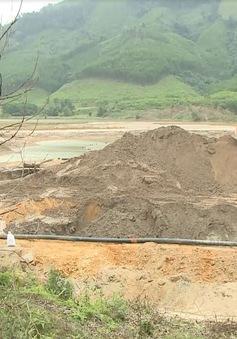 Quảng Nam: Vỡ đập chứa chất thải nguy hại của Công ty khai thác vàng 6666