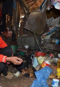Xót thương người phụ nữ quét chợ cô độc trong túp lều rách nát