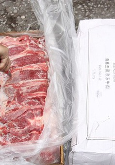 Thu giữ gần 200 tấn thịt trâu không rõ nguồn gốc nhập lậu bằng đường biển