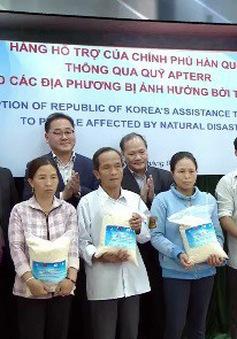 Hàn Quốc hỗ trợ 10.000 tấn gạo cho người dân Việt Nam bị thiên tai