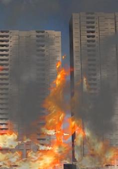 [VIDEO] Vụ cháy ở chung cư Carina Plaza đã diễn ra như thế nào?