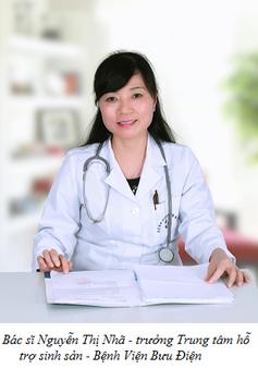 Thạc sĩ, bác sĩ Nguyễn Thị Nhã