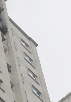 Cháy chung cư CT5A đô thị Văn Khê (Hà Đông) do chập điện