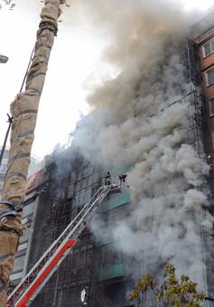 Hàng trăm chung cư ở Hà Nội chưa mua bảo hiểm cháy nổ