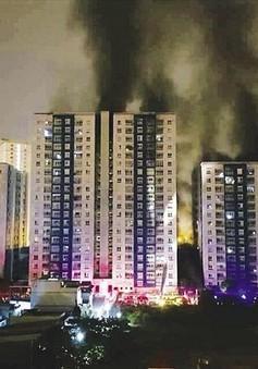 Buông lỏng công tác PCCC - Thực trạng nguy hiểm tại nhiều chung cư