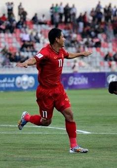 ẢNH: ĐT Việt Nam quả cảm giành 1 điểm trên sân của ĐT Jordan