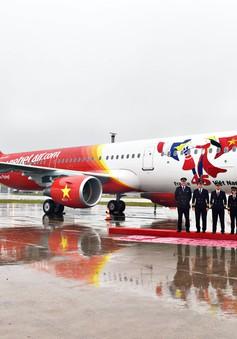 Hãng hàng không Vietjet tiếp nhận chiếc máy bay Airbus thứ 43