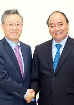 Thủ tướng tiếp nguyên Bộ trưởng Bộ Điều phối chính sách Hàn Quốc