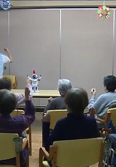 Robot mang niềm vui cho người cao tuổi