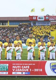 Lịch thi đấu và trực tiếp bóng đá vòng 4 Nuti Café V.League 2018: Tâm điểm FLC Thanh Hoá – SLNA, HAGL tiếp CLB Nam Định