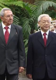 Lễ đón Tổng Bí thư Nguyễn Phú Trọng tại Cuba