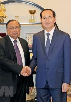 Chủ tịch nước tiếp Bộ trưởng Ngoại giao Bangladesh