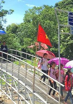 Xây dựng và hoàn thiện nhiều cầu dân sinh phục vụ người dân miền núi