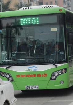 Hà Nội: Chưa đồng ý cho phương tiện khác chạy chung tuyến với xe bus BRT