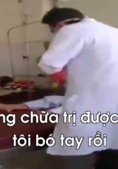 """Bộ Y tế yêu cầu xác minh thông tin bác sĩ """"đuổi"""" bệnh nhân về nhà tại Kiên Giang"""