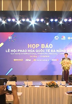 Đà Nẵng chính thức công bố chương trình Lễ hội pháo hoa quốc tế 2018