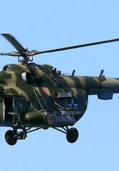 Rơi trực thăng an ninh Nga, ít nhất 5 người chết
