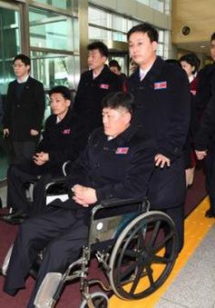 Phái đoàn Triều Tiên tham dự Paralympic 2018 đến Hàn Quốc